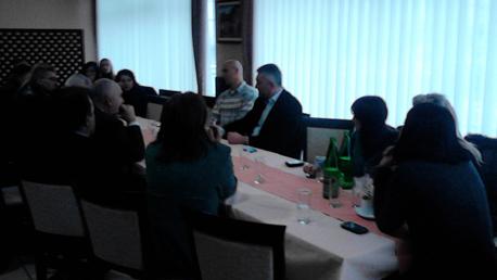 Petrović sa sledbenicima u Boru