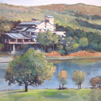 """Hotel """"Jezero"""" očima umetnika"""