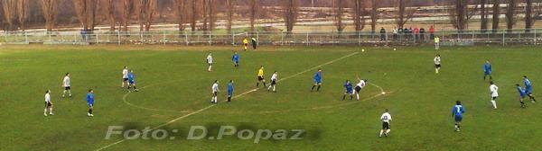 Detalj sa utakmice OFK Bor - FK Dunav