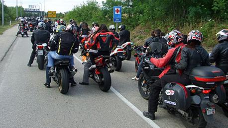 Moto skup Bor