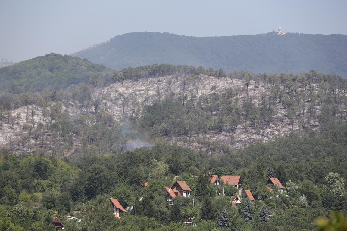 Tilva Roš posle sinoćnjeg požara