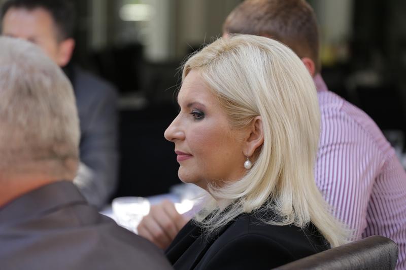 Ministarka Zorana Mihajlović za vreme dodele Šistekove nagrade
