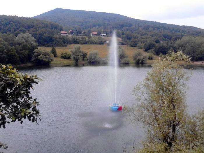 vodoskok jezero