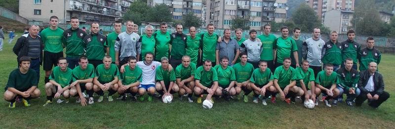 Rudarski fudbalski klub Majdanpek sa Bobanom Petkovicem