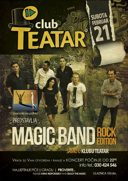 Magic Band - plakat S