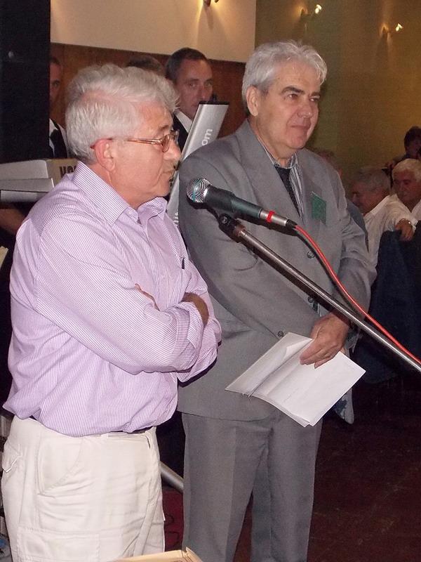 Vanja Dikov - preds. invalida Vidinskog okruga Bugarska & Ljubinko Tosic Knjazevac