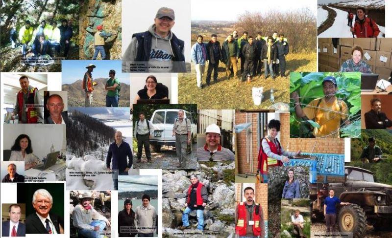 Tim ljudi koji je tokom desetogodišnjeg istraživanja otkrio Čukaru Peki