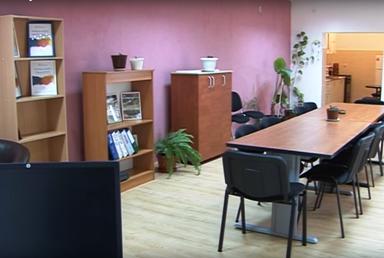 """Prostorije Udruženja """"Invalidi Homolja"""" (foto: screenshoot RTV Homolje)"""