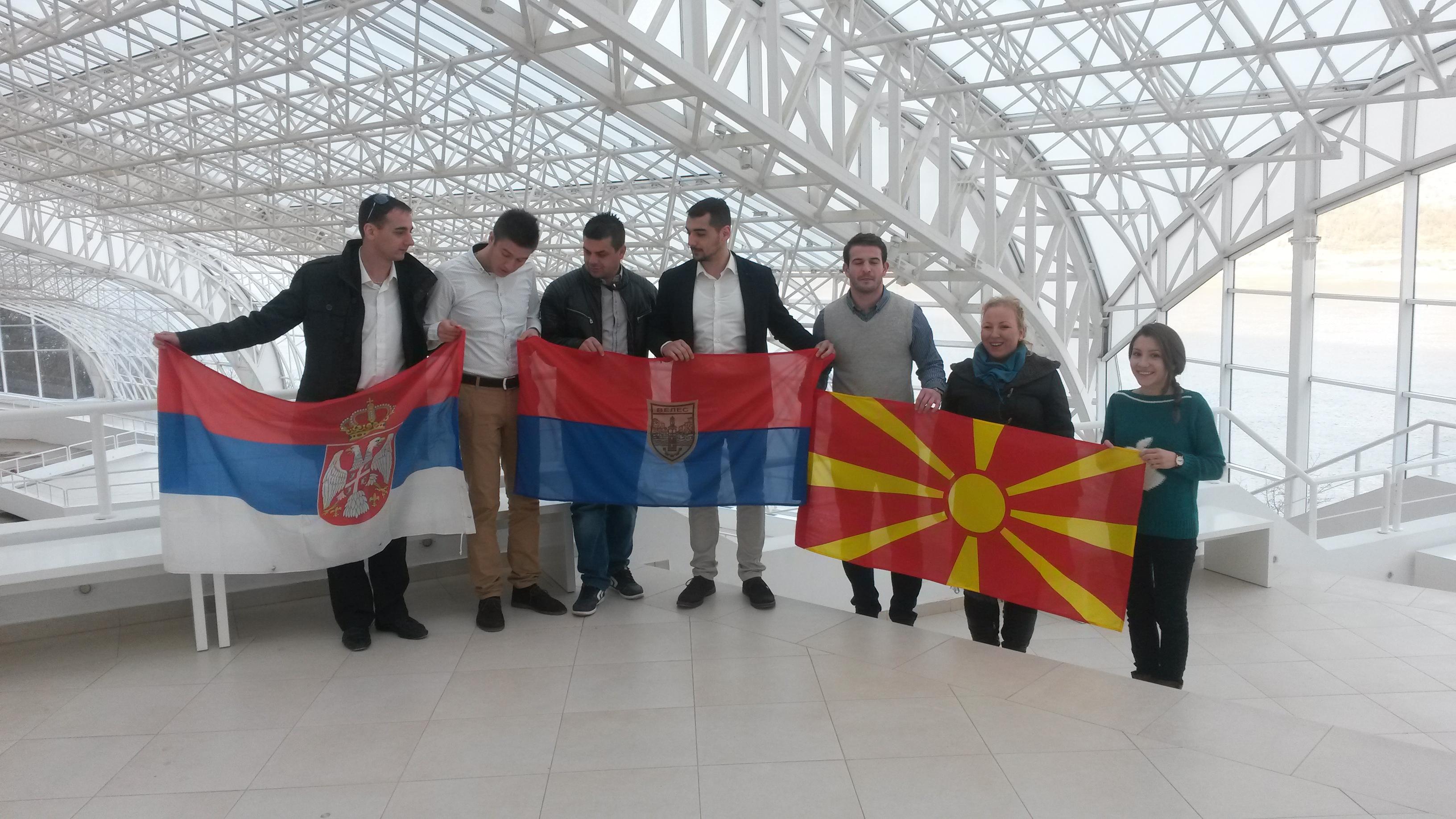 delegacija Velesa sa domacinima na Lepenskom Viru