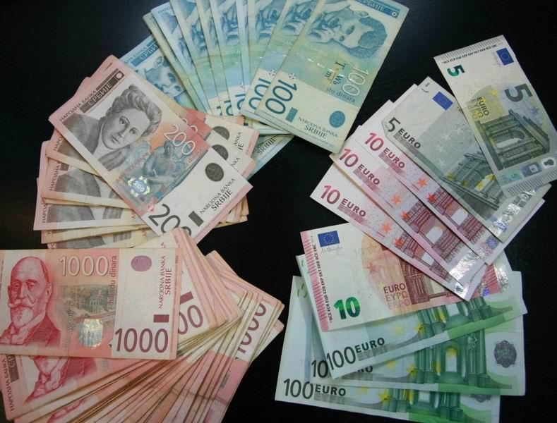 dinar evro