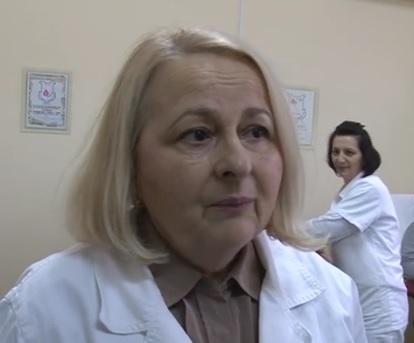 Snežana Milutinović, načelnik Odeljenja za transfuziologiju Opšte bolnice Bor