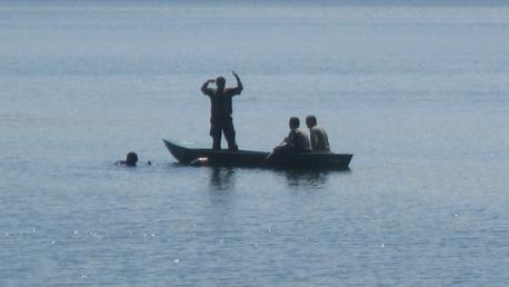 Ronioci na Jezeru - ilustracija